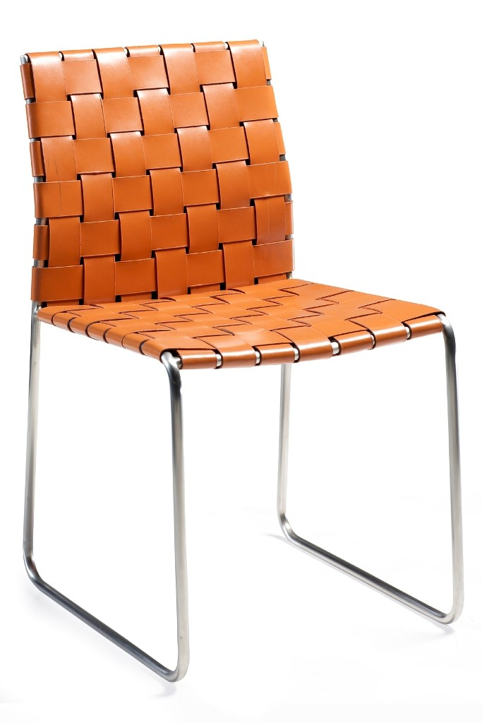 Design stuhl leder bond danform for Design stuhl orange