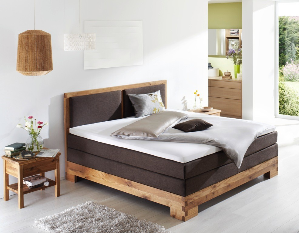 boxspringbett komfortbett massivholz coventry fey co. Black Bedroom Furniture Sets. Home Design Ideas