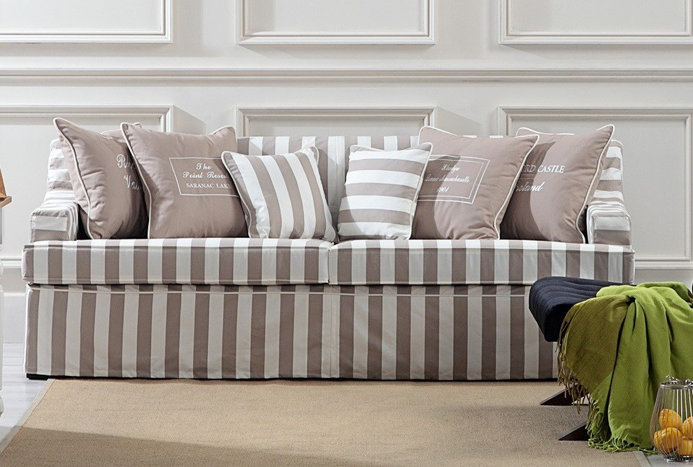 Coastal Homes Hussen Sofa gestreift Landhaus Virginia ...