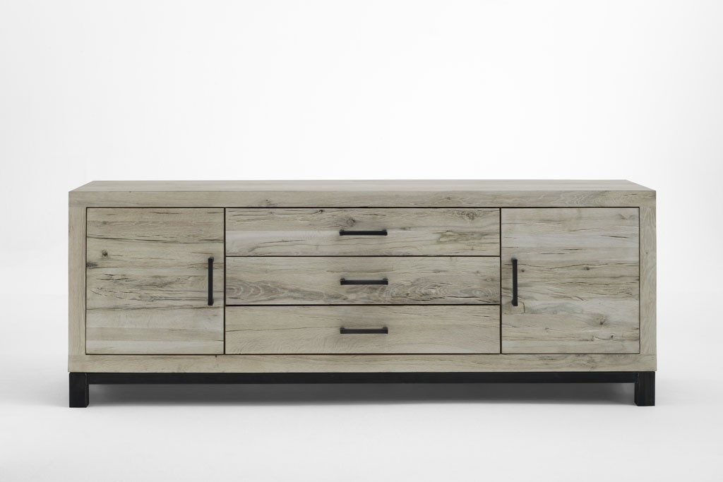 eiche sideboard metall bodahl valentino. Black Bedroom Furniture Sets. Home Design Ideas