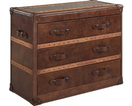 Timothy Oulton Stonyhurst Chest Vintage Cigar
