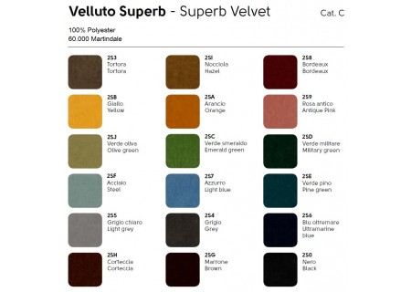 Bezug Stoff Superb Velvet Cat C